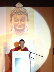 Rinpoche at the Dharma Flourshing Dinner 6.21.14