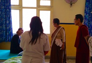 Rinpoche_clinic_visit